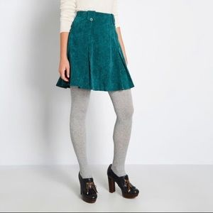 ModCloth Perky Participant Corduroy Skirt